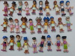 Wholesale boneca 100pcs lot Tupper treasure Figurines 5 cm MGA MINI Lalaloopsy PVC mobi world toys Mini Doll Gift Kid toys
