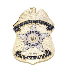 Wholesale Accurate Repro U S Secret Service Special Agent Metal Badge
