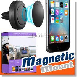 Nouveau 2017 Universal Car Air Vent Mount Clip magnétique Dock Support pour iPhone Pour Samsung Support d'aimant pour iphone 6S Mobile Phone Tablet GPS à partir de vent mount gps fournisseurs