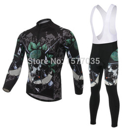 Wholesale-Free Shipping New Style Xintown Bicycle jersey skull Bike sets Soldier Cycling Clothes outdoor bib kits green pants special wear