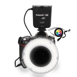 Wholesale Aputure Amaran Halo LED Macro Ring Flash Light AHL HN100 for Nikon CRI led ring flash light
