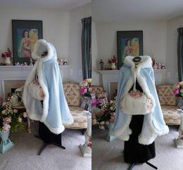 2018 New arrival free shipping Wedding Bridal Wraps Winter Bridal Jackets Furs Warm Bridal Cape