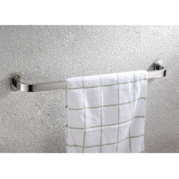 Stainless steel single pole towel rack bathroom towel bar towel rack bathroom accessories series single pole