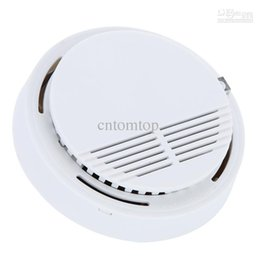 Wholesale High Sensitivity Stable Photoelectric Smoke Alarm Fire Smoke Detector Sensor Home Security System for Home DHL H9487