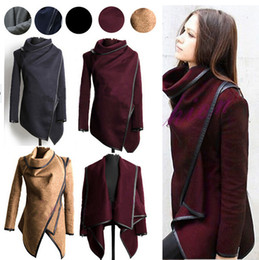 Wholesale Hot New Fashion Coat Wool Warm Long Coat Windbreaker Parka Women Coat Winter Coat