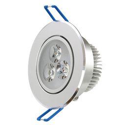Acheter en ligne Dans la lumière conduit 6w-Haute puissance 6W Dimmable Down lampe 3x2W AC 85 ~ 265V dirigée vers le bas éclairage feux encastrés LED spot de plafond