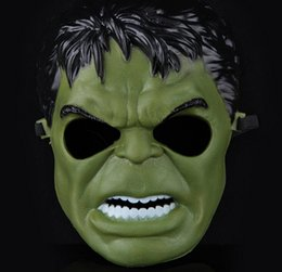 Wholesale 2015 Animated cartoon The incredible hulk mask Party Decoration halloween decoration masquerade party supplies for Children and adult