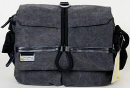 Bolsas de honda de la cámara en venta-Bolsa dslr Gris GN W2160 National Geographic diseño de la marca honda Lienzo caso réflex digitales W2160 gris bolsa de la cámara