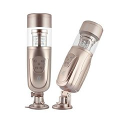 Full automatic sex machine, male electric masturbators, rotating and retractable sex toys for man,male hands free masturbation, sex product