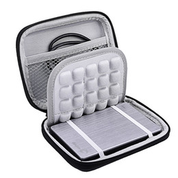 Shock proof Hard Carrying Case Bag box for Portable External Hard Drive Disk HDD