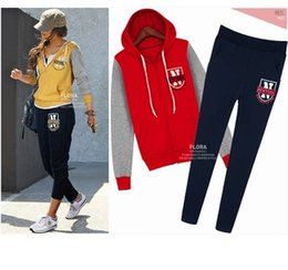 Wholesale 2016 the European and American fashion big yards dress fat mm new winter with velvet thickening show thin fleece sports leisure suit