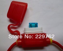 Wholesale Automotive Rubber Ceramic AWG WATERPROOF Auto A In line Mini Blade Type Fuse Holder Car Fus Socket ps