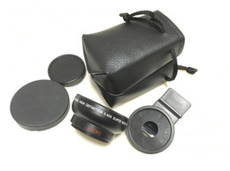 Wholesale Best Mobile Phone Professional DSLR Lens Black mm X Super Wide Angle Marco Lens for Universal Smartphone Iphone Samsung