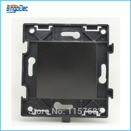 Wholesale 1gang way black stair light switch DIY PART no panel EU UK