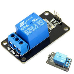 Wholesale 5V One Channel Relay Module Board Shield For PIC AVR DSP ARM MCU Arduino T1096 W0 SUP5