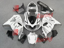 White with black pattern Injection molding custom painted fairing Suzuki TL1000R 1998-2003 47