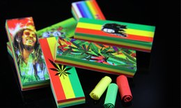 Wholesale 60booklets Hornet jamaican smoking rolling filter tips paper size mm leaves booklet rolling machine snuff bottle box smoking pipe
