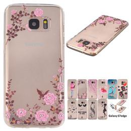 2016 cas de tpu doux pour le cas de téléphone SAMSUNG Galaxy S7 cellulaire de bord transparent tpu housse de protection housse de protection à partir de protection téléphone cellulaire fabricateur