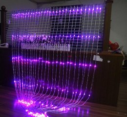 Wholesale 3m x m LED Christmas Wedding Party Background Holiday Running Water Waterfall Water Flow Curtain LED Light String Waterproof