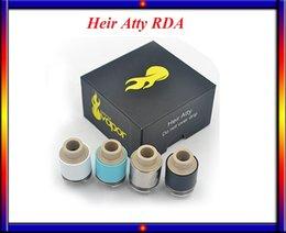 Wholesale Heir Atty RDA Vaporizer Kit Surefire Vapor Heir RDA Rebuildable Dripper Tank Fit Mechanical Mods VS A spire atlantis v2