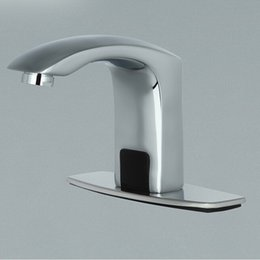 Induction faucet thickening basin faucet hotel kitchen washbasin faucet automatic sensor mixer water faucet wholesale A-FRD002