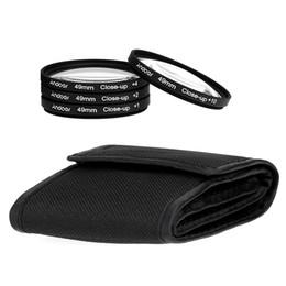 Cierre conjunto de filtro en Línea-Andoer 49mm Macro Close-Up Filter Set 1 2 4 10 con bolsa para Nikon Canon Sony DSLR de la cámara D1740