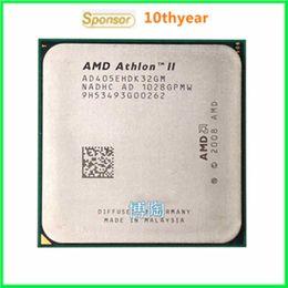 Wholesale X3 E X3 original desktop CPU AMD Athlon II X3 E G M AM3 pin Dual Core