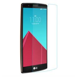 Acheter en ligne Nouveaux écrans de téléphone-2016 nouveau produit téléphone mobile haute clair verre trempé en gros pour LG G4 verre trempé écran