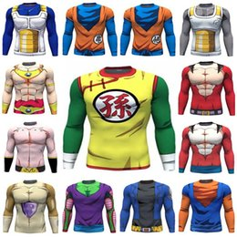 Wholesale Dragon Ball Z Vegeta Resurrection F Armour T Shirts Women Men Anime Super Saiyan Goku Majin Buu Piccolo Cell DBZ T shirt D Tees