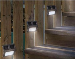 Wholesale 2016 hot solar outdoor lights outdoor wall ladder stair lights Advanced waterproof outdoor wall lamp