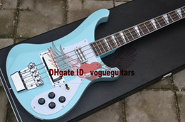 Custom 4 Strings Electric Bass Guitar More color choices High Quality Top Bass Guitar Hard case A5566