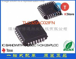 Wholesale TLC320AC02IFN IC BANDWITH CODEC CH PLCC TLC320AC02I New original