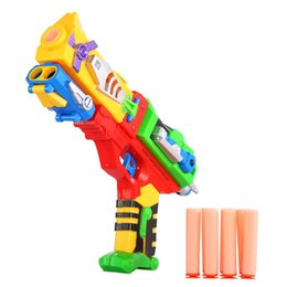 Wholesale New Baby toys kids Boys toy Soft Dart Water Bullet Pistol Game Shooting Toy Gun with Soft Bullets Brand