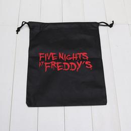 Stockage pour les jouets à vendre-10pcs / lot FNAF sacs cinq nuits à sac de stockage de sac de jouets de freddy cinq nuits à sac freddy
