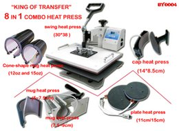 Wholesale New Advanced Design In Heat Press Printing For Cup Bag Tshirt MousePad Phone Cover Etc Hot Heat Transfer Machine