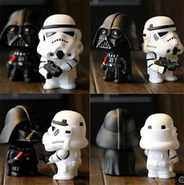 Promotion l'action de guerre Nouveaux 2016 Star Wars Darth Vader Storm Trooper figure d'action modèle jouets enfants Chirstmas cadeaux 2Pcs = 1Lot DCBB01