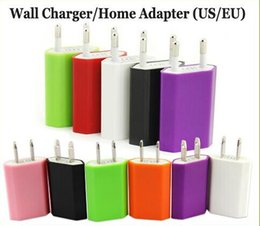 EU US Plug AC Power Adapter Home wall Charger 5V 1A 5V 1000mAh Universal Travel Charegr For iPhone 6 plus samsung