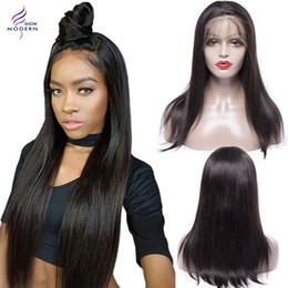 Brazilian Straight Human Hair 360 Lace Frontal Wigs Brazilian Human Hair Wigs for Black Women Brazilian Virgin Hair Lace Front wigs