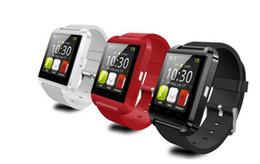 Wholesale Smart watch U8 U Watch Smart Watch Wrist Watches for iPhone S S Samsung S4 S5 Note Note Smartphones