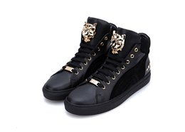 New arrive Platform Mens Shoes PS87 Top Stars Luxury leather of metal tiger casual sneakers shoes