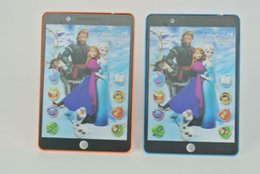 Wholesale Frozen D English Learning Machine Tablet toys Computer educational TOY for Kids wtih movie sound and music