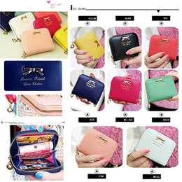 Wholesale Hot Sale Womens Fashional Mini Faux Leather Purse Zip Around Wallet Card Holders Handbag A1