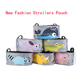 Wholesale Hot Sale Strollers Admission Package Quality Nylon Portable Pouch Multifunctional Storage Package Baby Bottles Storage Bags