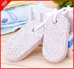 Wholesale 2pcs Foot Care Feet Pedicure Scrubber Natural Pumice Stone Rid Callus Skin Care foot brush Clean scrub remover
