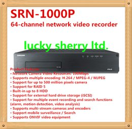 Wholesale Original Genuine Samsung SRN P way Network Video Recorder NVR original proof year warranty LS