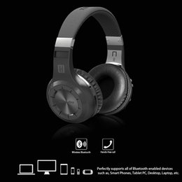 Wholesale Bluedio Over the head Bluetooth EDR Wireless Stereo Earphone Headphone Headset Hands free with Mic for Smart Phones Desktop Laptop Com