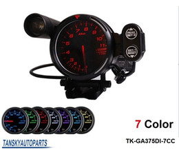 Wholesale DEFI quot STEPPER MOTOR DEFI TACHOMETER CAR METER AUTO GAUGE COLOR Default color RED TK GA375DI CC