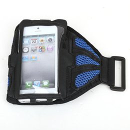Wholesale Mesh Gym Sport Run Cover Holder Running Armband Case for Samsung Galaxy S5 i9600