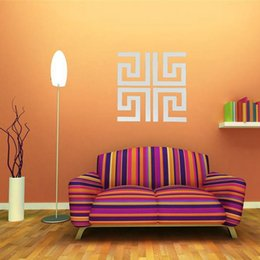 Wholesale Beautiful Design DIY Four Mazes Mirror Decal Wall Stickers Home Art Mural Decorating Acrylic Lowest Price