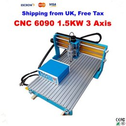 Wholesale From UK No Tax CNC Axis engraving Machine with KW VFD water cooled spindle CNC Milling Lathe machine